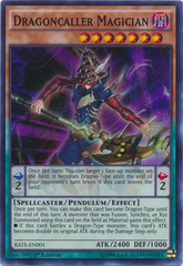 Dragoncaller Magician - RATE-EN001 - Super Rare - 1st Edition on Channel Fireball