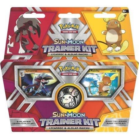 Pokemon - Sun & Moon Trainer Kit - Lycanroc & Alolan Raichu