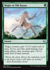 Might of Old Krosa - Foil