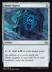 Dimir Signet on Channel Fireball