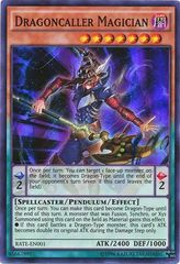 Dragoncaller Magician - RATE-EN001 - Super Rare - Unlimited Edition