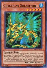 Crystron Sulfefnir - RATE-EN021 - Super Rare - Unlimited Edition