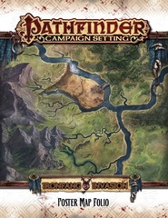 Pathfinder Campaign: Ironfang Invasion Poster Map Folio 92103