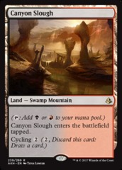 Canyon Slough on Channel Fireball