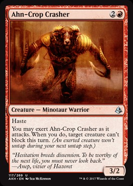 Ahn-Crop Crasher - Foil