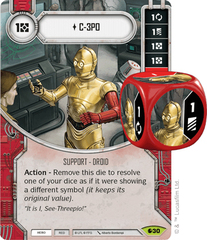 C-3PO (Sold with matching Die)