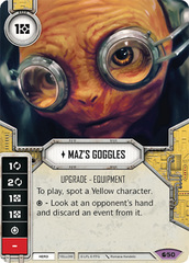 Maz's Goggles (sold w/ matching die)