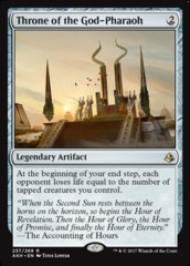 Throne of the God-Pharaoh - Foil