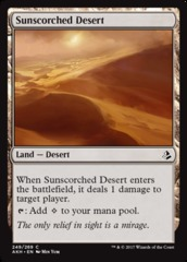Sunscorched Desert - Foil