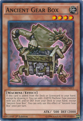 Ancient Gear Box - SR03-EN011 - Common - 1st Edition on Channel Fireball