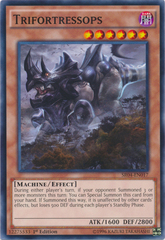 Trifortressops - SR04-EN017 - Common - 1st Edition on Channel Fireball