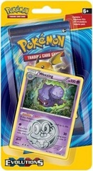 XY Evolutions Checklane Blister Pack - Weezing
