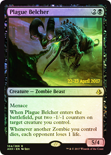 Plague Belcher (Amonkhet Prerelease Foil)
