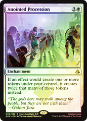 Anointed Procession - Foil - Prerelease Promo