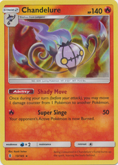Chandelure - 13/145 - Holo Rare