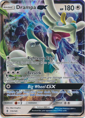 Drampa-GX - 115/145 - Ultra Rare on Channel Fireball
