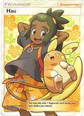 Hau  - 144/145 - Full Art Ultra Rare on Channel Fireball