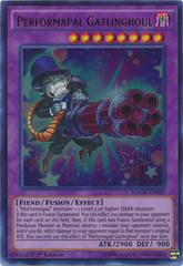 Performapal Gatlinghoul - MACR-EN040 - Ultra Rare - 1st Edition