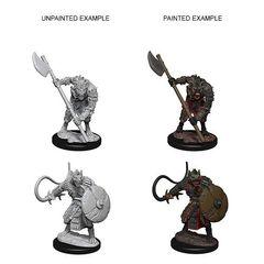 Pathfinder: Deep Cuts Unpainted Miniatures - Gnolls