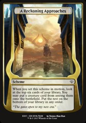 A Reckoning Approaches (Jumbo Card)