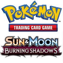 Pokemon: Sun And Moon 3 - Burning Shadows Booster Pack