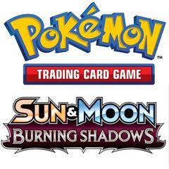 Pokemon: Sun And Moon 3 - Burning Shadows Check Lane Blisters (288 Blisters)