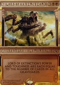 Lord of Extinction (Masterpiece Foil)