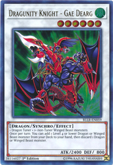 Dragunity Knight - Gae Dearg - BLLR-EN059 - Ultra Rare - 1st Edition on Channel Fireball