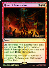 Hour of Devastation - Foil - Prerelease Promo