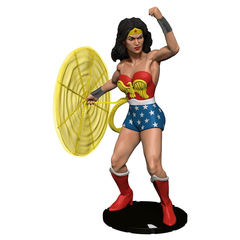 DC HeroClix: 15th Anniversary Elseworlds Colossal Skyscraper Wonder Woman Case Incentive