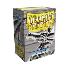 Dragon Shield Sleeves: Silver (Box Of 100)