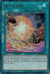 Castle Link - COTD-EN065 - Ultra Rare - 1st Edition on Channel Fireball