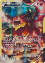 Volcanion - XY185 - Volcanion Mythical Collection Promo
