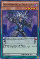 Lector Pendulum, the Dracoverlord - MP17-EN014 - Ultra Rare - 1st Edition