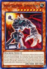 Ancient Gear Golem - Ultimate Pound - COTD-EN099 - Common - Unlimited Edition
