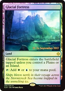 Glacial Fortress (Ixalan Prerelease Foil)