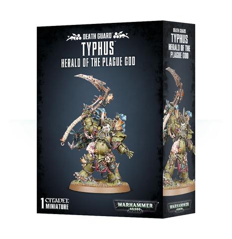 Death Guard Typhus, Herald of the Plague God