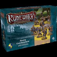 Runewars Miniatures Game: Heavy Crossbowmen Unit Expansion