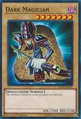 Dark Magician - LEDD-ENA01 - Common - 1st Edition on Channel Fireball
