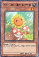 Naturia Sunflower - DT03-EN018 - Duel Terminal Normal Parallel Rare - 1st Edition on Channel Fireball