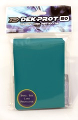 Dek Prot 50ct. Yugioh Sized Sleeves - Teal Green