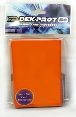 Dek Prot 50ct. Yugioh Sized Sleeves - Tulip Orange