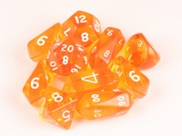 10 piece Hybrid Translucent - Orange