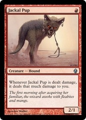 Jackal Pup - Foil on Channel Fireball