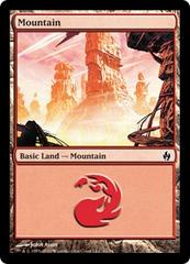 Mountain (31) - Foil on Channel Fireball