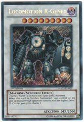 Locomotion R-Genex - HA03-EN029 - Secret Rare - 1st Edition