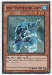 Shock Troops of the Ice Barrier - HA03-EN018 - Super Rare - 1st Edition