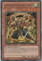 Legendary Six Samurai - Kageki - STOR-EN022 - Rare - 1st Edition