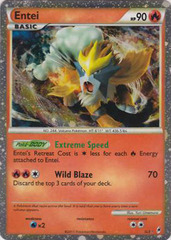 Entei - SL3 - Shiny Rare Holo