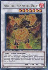 Ancient Flamvell Deity - DT04-EN088 - Ultra Parallel Rare - Duel Terminal on Channel Fireball